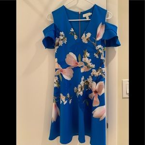 Ted Baker dress size 1 us size 2-4 almost new .